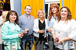 Martina O'Donoghue, Paul O'Donoghue, Pauline McCarthy, Tracey Bolger and Dianne O'Shea pictured at the John Mitchel's Strictly Come Dancing at the Ballygarry House Hotel on Sunday night.