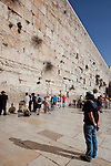 Day 4 -  The Western Wall in Jerusalem (Photo by Brian Garfinkel)