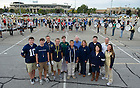 September 22, 2011; Marching Band director team for the Team Irish Award.