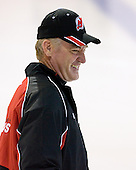 Larry Robinson takes part in the  first session on Saturday, September 15, 2007 of the New Jersey Devils training camp on Rink 2 of the Richard E. Codey Arena at South Mountain in West Orange, New Jersey...