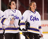 Matt Doyle (Williams - 24), Matt Werner (Williams - 18) - The Williams College Ephs defeated the Trinity College Bantams 4-2 (EN) on Tuesday, January 7, 2014, at Fenway Park in Boston, Massachusetts.
