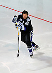 24 January 2009: Tampa Bay Lightning right wing forward Martin St. Louis participates in the NHL Fan Fav Breakaway Challenge collecting a 15.7% Fan Vote in the NHL SuperSkills Competition, part of the All-Star Weekend at the Bell Centre in Montreal, Quebec, Canada. ***** Editorial Sales Only ***** Mandatory Photo Credit: Ed Wolfstein Photo