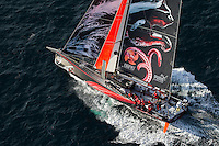 FRANCE,  Point Penmarc'h. 1st July 2012. Volvo Ocean Race, Leg 9 Lorient-Galway. PUMA Ocean Racing powered by BERG.