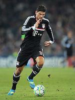 FUSSBALL   CHAMPIONS LEAGUE   SAISON 2011/2012   ACHTELFINALE HINSPIEL FC Basel - FC Bayern Muenchen      22.02.2012 Mario Gomez (FC Bayern Muenchen)