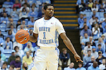 22 December 2012: North Carolina's Dexter Strickland. The University of North Carolina Tar Heels played the McNeese State University Cowboys at the Dean E. Smith Center in Chapel Hill, North Carolina in an NCAA Division I Men's college basketball game. UNC won the game 97-63.