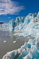 Chenega glacier, Prince William Sound, Alaska.