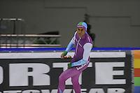 SCHAATSEN: HEERENVEEN: 16-01-2016 IJsstadion Thialf, Trainingswedstrijd Topsport, Daidai Ntab, ©foto Martin de Jong