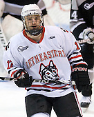 Steve Silva (Northeastern - 17) - The Northeastern University Huskies defeated the visiting Providence College Friars 5-0 on Saturday, November 20, 2010, at Matthews Arena in Boston, Massachusetts.