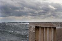 Il mare d'inverno.