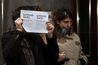"25.01.2012 - ""Goldman Sachs Pay Your Tax"""
