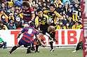 Hirotoki Onozawa (Sungoliath),.JANUARY 15, 2012 - Rugby :.Japan Rugby Top League 2011-2012 match between Suntory Sungoliath 43-26 Kintetsu Liners at Prince Chichibu Memorial Stadium in Tokyo, Japan. (Photo by Hitoshi Mochizuki/AFLO)