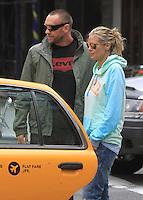 Heidi Klum and her boyfriend Martin Kristen in New York City