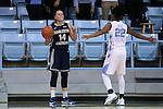 22 November 2016: Charleston Southern's Elyse Kiploks (AUS) (14) and North Carolina's Paris Kea (22). The University of North Carolina Tar Heels hosted the Charleston Southern University Buccaneers at Carmichael Arena in Chapel Hill, North Carolina in a 2016-17 NCAA Women's Basketball game. UNC won the game 93-77.