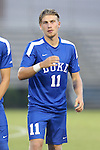 27 September 2016: Duke's Max Moser (AUT). The Duke University Blue Devils hosted the Georgia State University Panthers at Koskinen Stadium in Durham, North Carolina in a 2016 NCAA Division I Men's Soccer match. Georgia State won the game 2-1 in two overtimes.