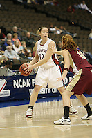 20 March 2006: Christy Titchenal during Stanford's 88-70 win over Florida State in the second round of the NCAA Women's Basketball championships at the Pepsi Center in Denver, CO.