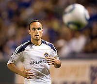 LA Galaxy forward & team Captain Landon Donovan (10) keeps his eyes a loose ball. The LA Galaxy and Toronto FC played to a 0-0 draw at Home Depot Center stadium in Carson, California on Saturday May 15, 2010.  .