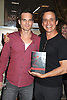 "Greg Rikaart and Christian Jules LeBlanc attend the book signing of "" The Young & Restless LIfe of William J Bell"" by Michael Maloney and Lee Phillip Bell  on June 21, 2012 at The Barnes & Nobles in The Grove in Los Angeles."