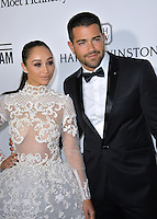 LOS ANGELES, CA. October 27, 2016: Cara Santana &amp; Jesse Metcalfe at the 2016 amfAR Inspiration Gala at Milk Studios, Los Angeles.<br /> Picture: Paul Smith/Featureflash/SilverHub 0208 004 5359/ 07711 972644 Editors@silverhubmedia.com
