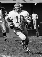 Jerry Keeling Calgary Stampeders quarterback 1972 Copyright photograph Scott Grant