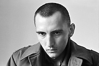 Bosnian Serb soldier Borislav Herak (21) in prison in Sarajevo on November 26, 1992, days after he was captured and confessed to raping an killing dozens of Bosnian Muslim civilians.