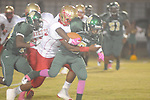 Lafayette High's Kalen Coleman (16) makes a tackle vs. Tunica Rosa Fort Tunica, Miss. on Friday, October 7, 2011. Lafayette won 43-6.