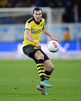 FUSSBALL   1. BUNDESLIGA   SAISON 2012/2013   17. SPIELTAG   TSG 1899 Hoffenheim - Borussia Dortmund      16.12.2012           Kevin Grosskreutz (Borussia Dortmund)  am Ball