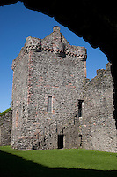 Skipness Castle in Kintyre, Scotland