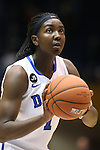 17 November 2013: Duke's Elizabeth Williams. The Duke University Blue Devils played the University of Alabama Crimson Tide at Cameron Indoor Stadium in Durham, North Carolina in a 2013-14 NCAA Division I Women's Basketball game. Duke won the game 92-57.