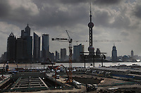New construction all along Dong Da Ming Road... The Pudong area across the river has only been around for the last 50 years...