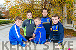 At the Ballymacelligott COISTE NA NOG AWARDS in Ballygarry House Hotel were Kieran O'Connell, Luke O'Connell, Sam Slattery, Alex Riordan, Kieran Slattery