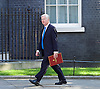 Cabinet meeting arrivals <br /> Downing Street, London, Great Britain <br /> 19th July 2016 <br /> <br /> New members of the Cabinet <br /> arriving ahead of the first cabinet meeting chaired by Theresa May <br /> <br /> <br /> Michael Fallon<br /> Defence<br /> <br /> Photograph by Elliott Franks <br /> Image licensed to Elliott Franks Photography Services