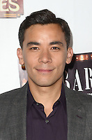 HOLLYWOOD, CA - JULY 20: Conrad Ricamora at the opening of 'Cabaret' at the Pantages Theatre on July 20, 2016 in Hollywood, California. Credit: David Edwards/MediaPunch