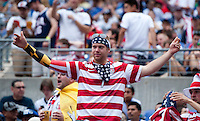United States Fans.  The United States defeated El Salvador, 5-1, during the quarterfinals of the CONCACAF Gold Cup at M&T Bank Stadium in Baltimore, MD.