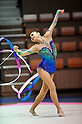 Hiromi Nakatsu (JPN) ,..JULY 25, 2011 - Rhythmic Gymnastics : The Control Series Round 4 during The 31th Rhythmic Gymnastics World Championships 2011 Selection at 2nd Yoyogi Gymnasium, Tokyo, Japan. (Photo by Jun Tsukida/AFLO SPORT) [0003]..