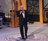President-elect of The United States Donald J. Trump  speaks during a &quot;Candlelight&quot; dinner to thank donors in Washington, DC, January 19, 2017. <br /> Credit: Chris Kleponis / Pool via CNP