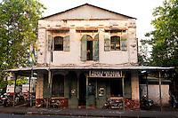 Mauritius. Trou Fanfaron Police Station, Port Louis.