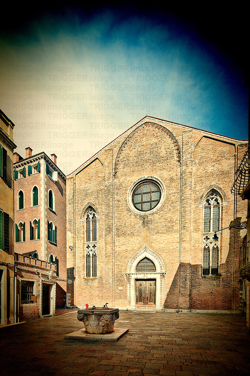 Saint George Anglican church, Dorsoduro, Venice, Italy
