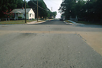 1993 July 09.UNDATED..Conservation.Cottage Line..OCEAN VIEW.PUBLIC IMPROVEMENTS..NEW STREET LOOKING NORTH ON WARWICK FROM VIRGINIA..CAPTION...NEG#.NRHA#..