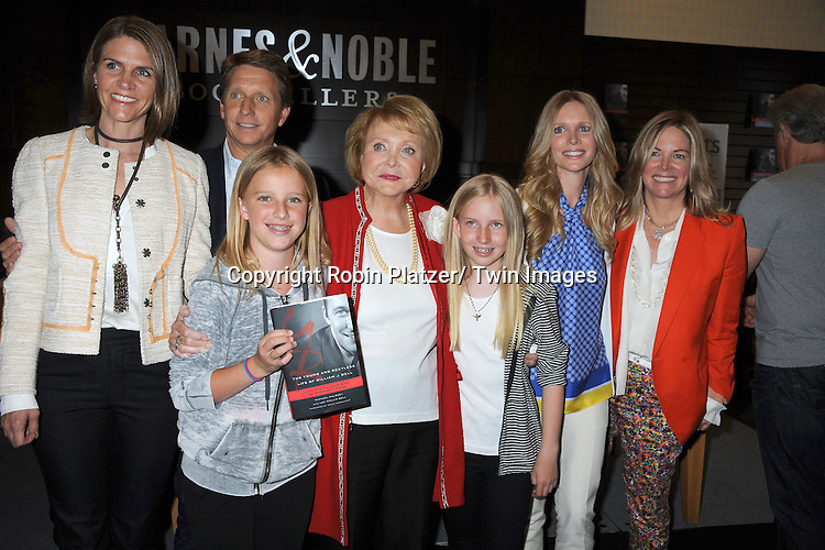 Lee Phillip Bell and family  attends the book signing of &quot; The Young &amp; Restless LIfe of William J Bell&quot; by Michael Maloney and Lee Phillip Bell  on June 21, 2012 at The Barnes &amp; Nobles in The Grove in Los Angeles.