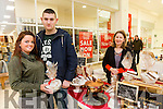 At the Taste of Tralee Food Fair in Manor West were Chole Burke and Paddy Burke with Caroline O'Connor of Milseoige