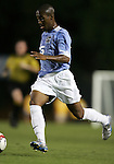 Corey Ashe, of UNC, on Tuesday October 4th, 2005 at Fetzer Field on the campus of the University of North Carolina Chapel Hill in Chapel Hill, North Carolina. The UNC Tarheels defeated the Elon University Phoenix 2-1 after overtime in an NCAA Division I Men's Soccer game.