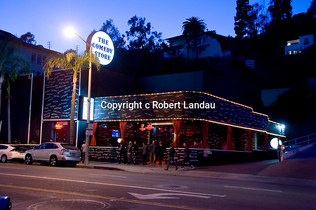 The Comedy Store (once Ciro's Nightclub) on the Sunset Strip in West Hollywood