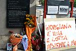 Giorgiana Masi, commemorazione del 40° anniversario