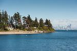 Bainbridge Island, 20 minutes by ferry, seems 1000 miles from Seattle.