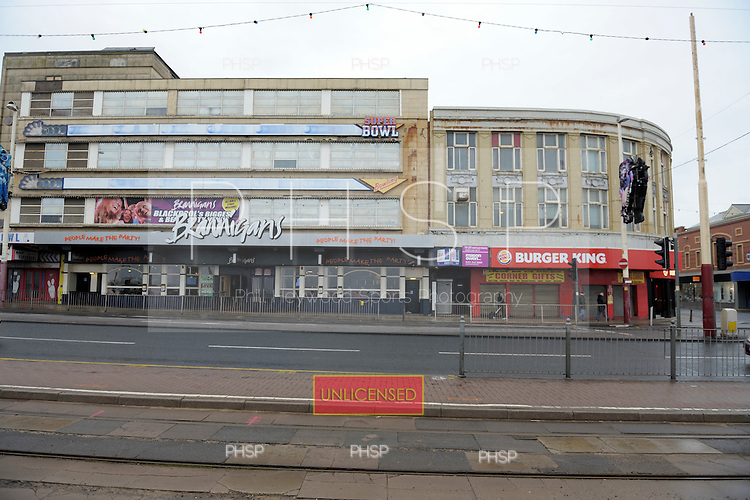 Burger King/ Brannigans Promenade  Blackpool Lancashire UK....© Phill Heywood.