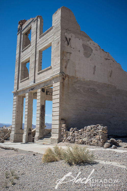Rhyolite, Nevada, a ghost town just outside Death Valley National Park, March 2012