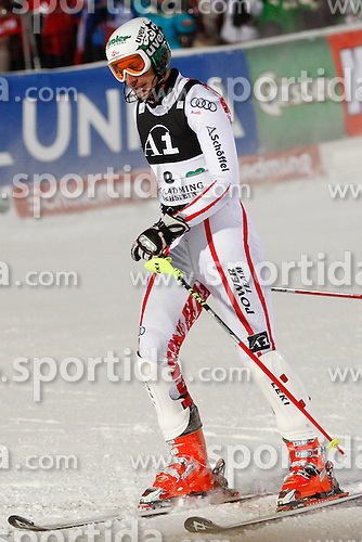 24.01.2011, Planai, Schladming, AUT, FIS World Cup Ski Alpin, Men, Slalom, im Bild // Manfred Pranger (AUT) // during the men night slalom race at the FIS Alpine skiing World cup in Schladming, EXPA Pictures © 2011, PhotoCredit: EXPA/E. Scheriau