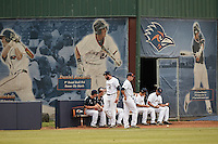 SAN ANTONIO, TX - MAY 8, 2015: The Middle Tennessee State University Blue Raiders fall to the University of Texas at San Antonio Roadrunners 9-2 at Roadrunner Field. (Photo by Jeff Huehn)