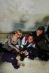 Official opening of the sensory room at  Crug Glas School in Swansea sponsored by BT and the Lords Taverners...Welsh Paralympian Nathan Stephens who opened the sensory room alongside Ann Beynon, BT Wales and Chrissie Colbeck from the Lords Taverners with pupils Catrin Couch and Sean Harries...05.12.12..©Steve Pope