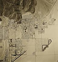 historical aerial photograph Riverside, California, 1972